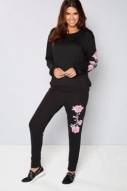 Be You Floral Printed Tracksuit