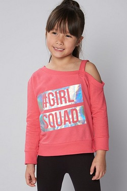 Girls Squad Sweat Top