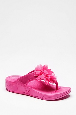 Be You Moulded Toe Post Flower Sandal