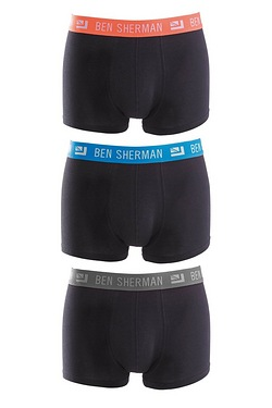 Ben Sherman Pack Of 3 Colour Band B...