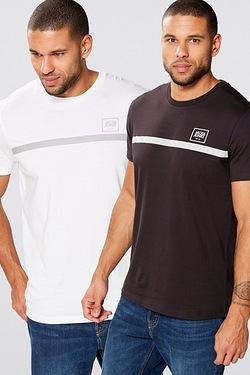 Jack and Jones Pack Of 2 Reflective...