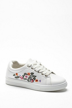 Be You Embroidered Trainer