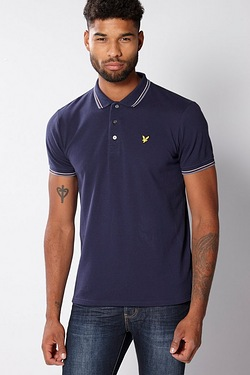 Lyle and Scott Polo - Navy