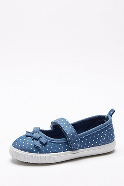 Younger Girls Love Print Mary Jane Shoe