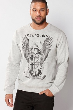 Religion Crew Neck Sweat