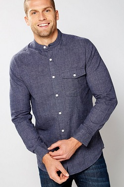 Twisted Gorilla Grandad Collar Shirt