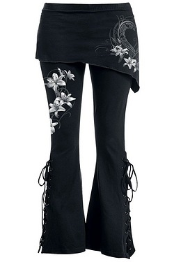 Pure Of Heart 2in1 Boot-Cut Legging...