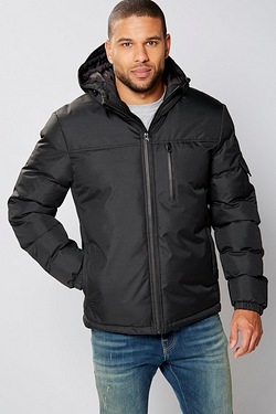 Twisted Gorilla Hooded Padded Jacket