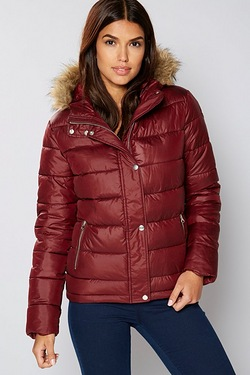 Be You Short Padded Coat