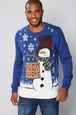Chill Out Christmas Jumper