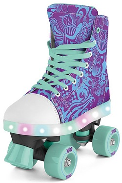 Xoo Canvas LED Quad Skates