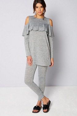Be You Cold Shoulder Tracksuit