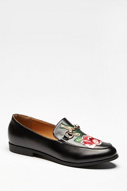 Be You Rose Embroidered Loafer