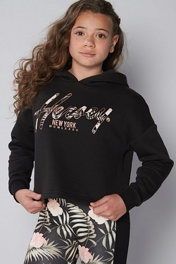 Girls Beck and Hersey Cropped Hoody