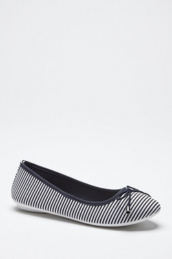 Be You Ballerina Flat Shoe - Stripe