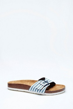 Be You Single Strap Footbed Sandal
