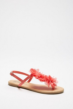 Be You Floral Toe Post Sandal