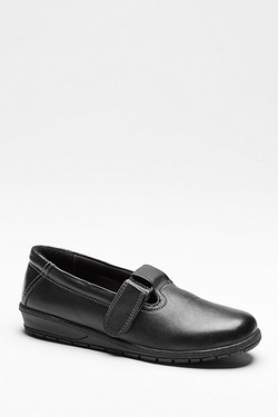 Dr Keller Leather T-Bar Shoe