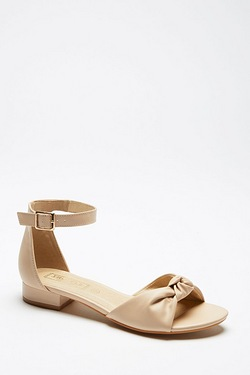 Be You Knot Front Sandal