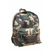 Dunlop Green Camouflage Print Backpack