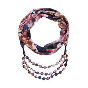 Bold And Beautiful Scarf Necklace
