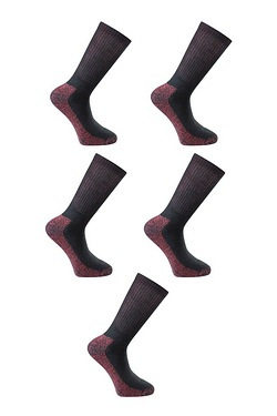Dickies Pack Of 5 Work Socks