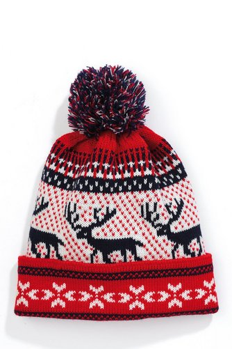 Image for Bobble Hat - Reindeer Red/Blue from ace
