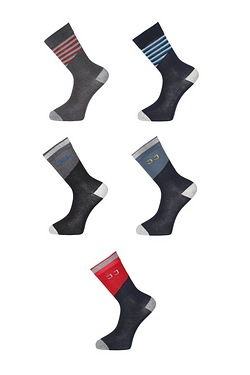 Jack and Jones Pack Of 5 Socks