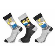 The Simpsons Pack Of 3 Socks