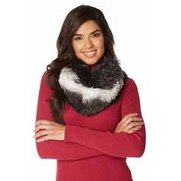 Double Layer Mongolian Fur Snood