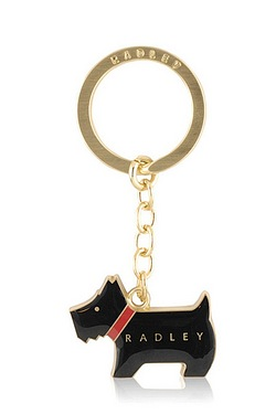 Radley Key Ring Black