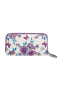 Butterfly Zip Around Purse