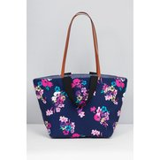 Oversized Floral Beach Bag