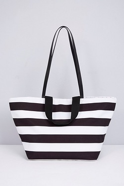 Oversized Beach Bag - Stripe
