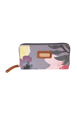 Kangol Floral Zip Around Purse