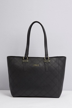 Guess Embossed Logo Tote Bag