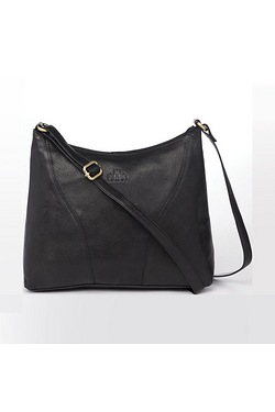Rowallan Leather Hobo Shoulder Bag