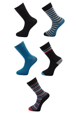 Firetrap Pack Of 5 Stripe Socks