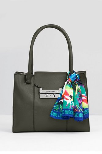 Image for Love Moschino Scarf Handbag from ace