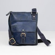Buffed Leather Large Cross Body