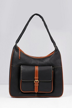 Contrast Scoop Top Bag