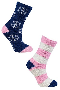Pack of 2 Snuggle Socks