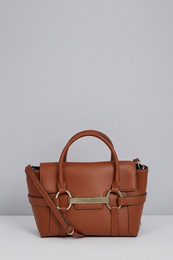 Florelli Barbican Handbag - Tan