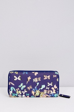 Zip Around Purse - Butterfly