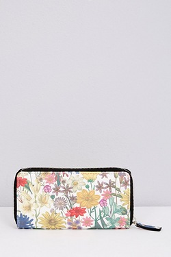 Zip Around Purse - Summer Floral
