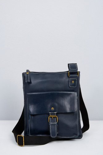 Image for Leather Buckle Crossbody from ace