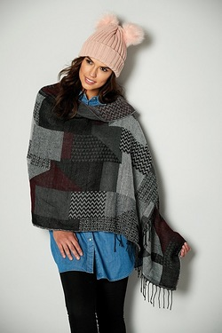 Abstract Blanket Scarf