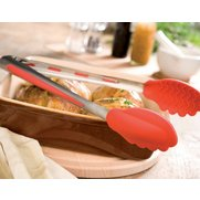 Red Silicone Food Tongs