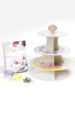 High Tea Book and Accessories
