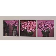 Set Of 3 Morrocan Treasure Canvases